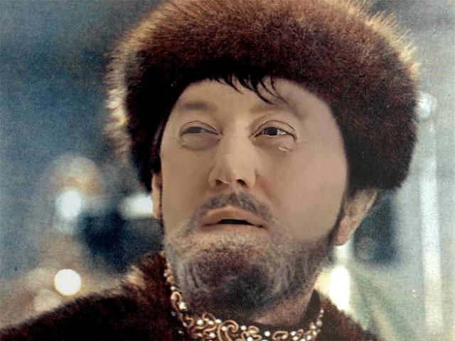 Сергей Бурунов в роли Ивана Грозного