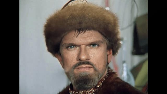 Владимир Яглыч в роли Ивана Грозного