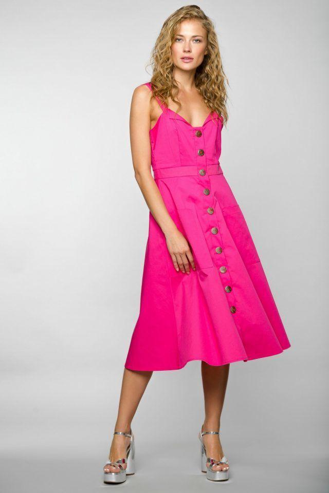 Розовый для блондинок