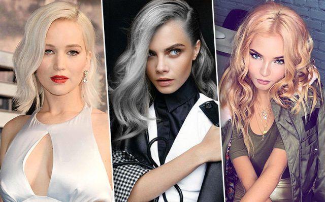 Все оттенки блонда