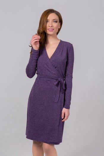 фиолетовая женская одежда