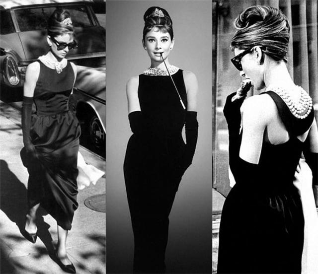 Шанелевское черное платье