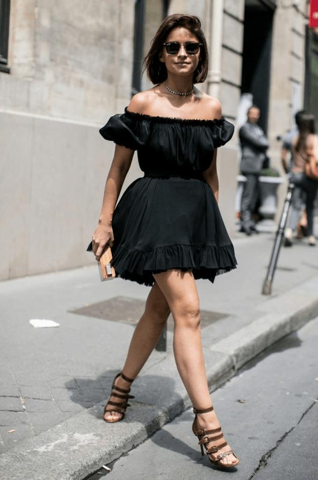 Шанелевское черное платье2