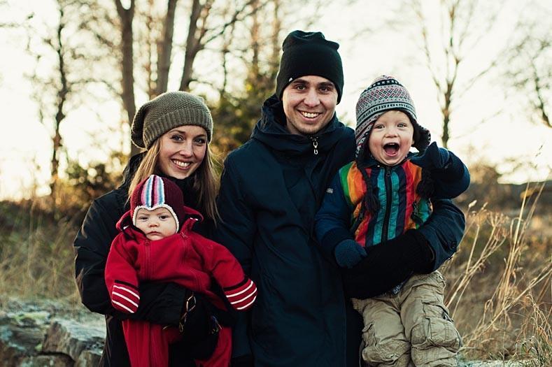 шведская семья