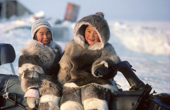 Защита кожи у эскимосов
