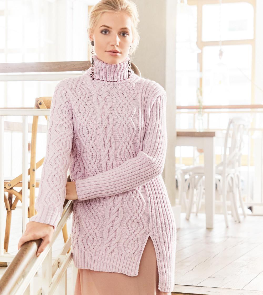 Ассиметричный свитер