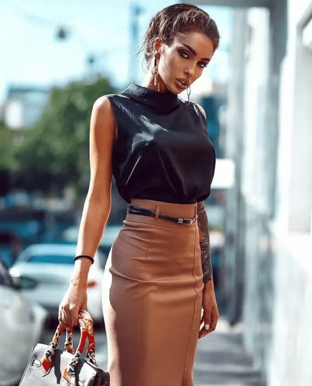 Какие юбки удлиняют ноги