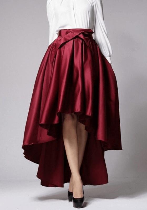 Какие юбки удлиняют ноги6