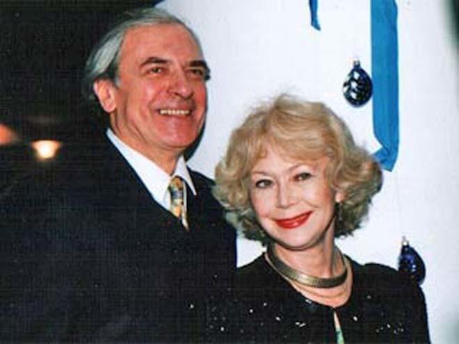 Александр Лазарев и Светлана Немоляева