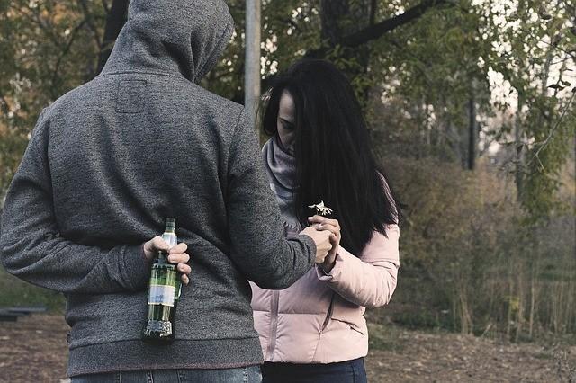 муж-алкоголик