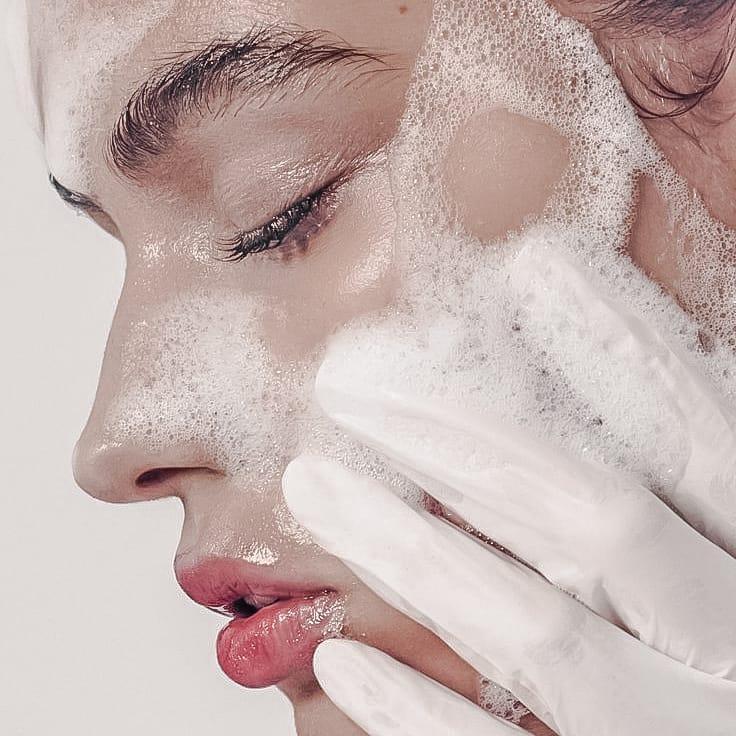 умывание кожи