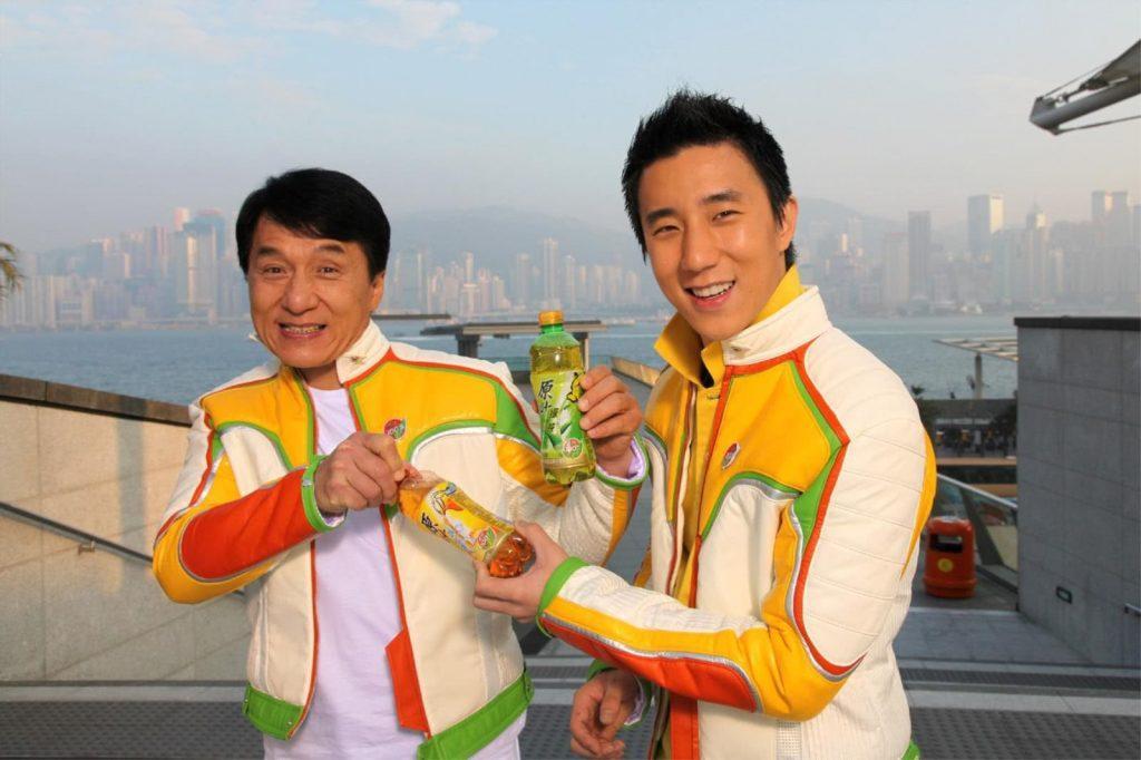 Джеки чан и сын