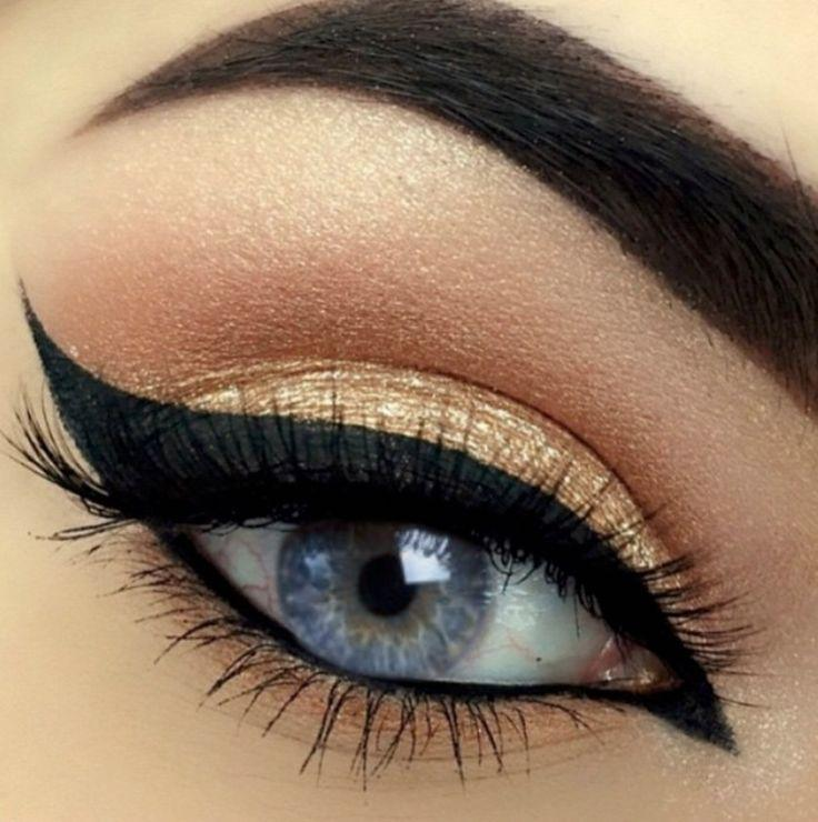 Сокрушающий эффект «кошачьего» макияжа