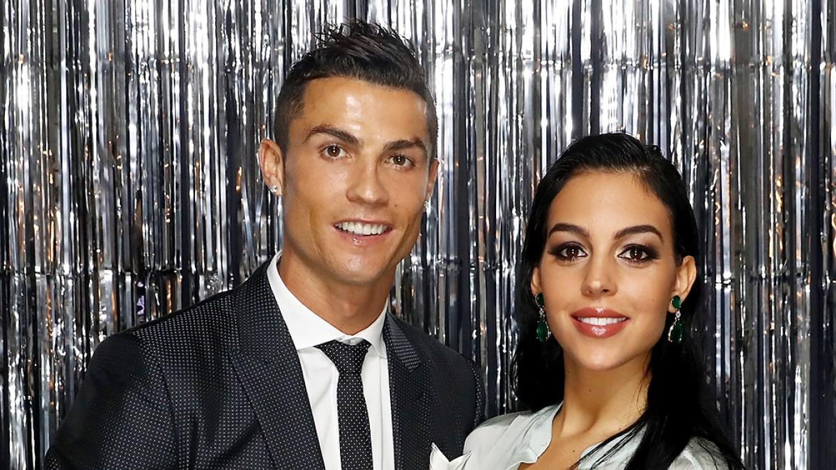 Криштиану Роналду с женой