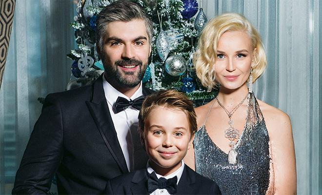 Дмитрий Исхаков с семьей