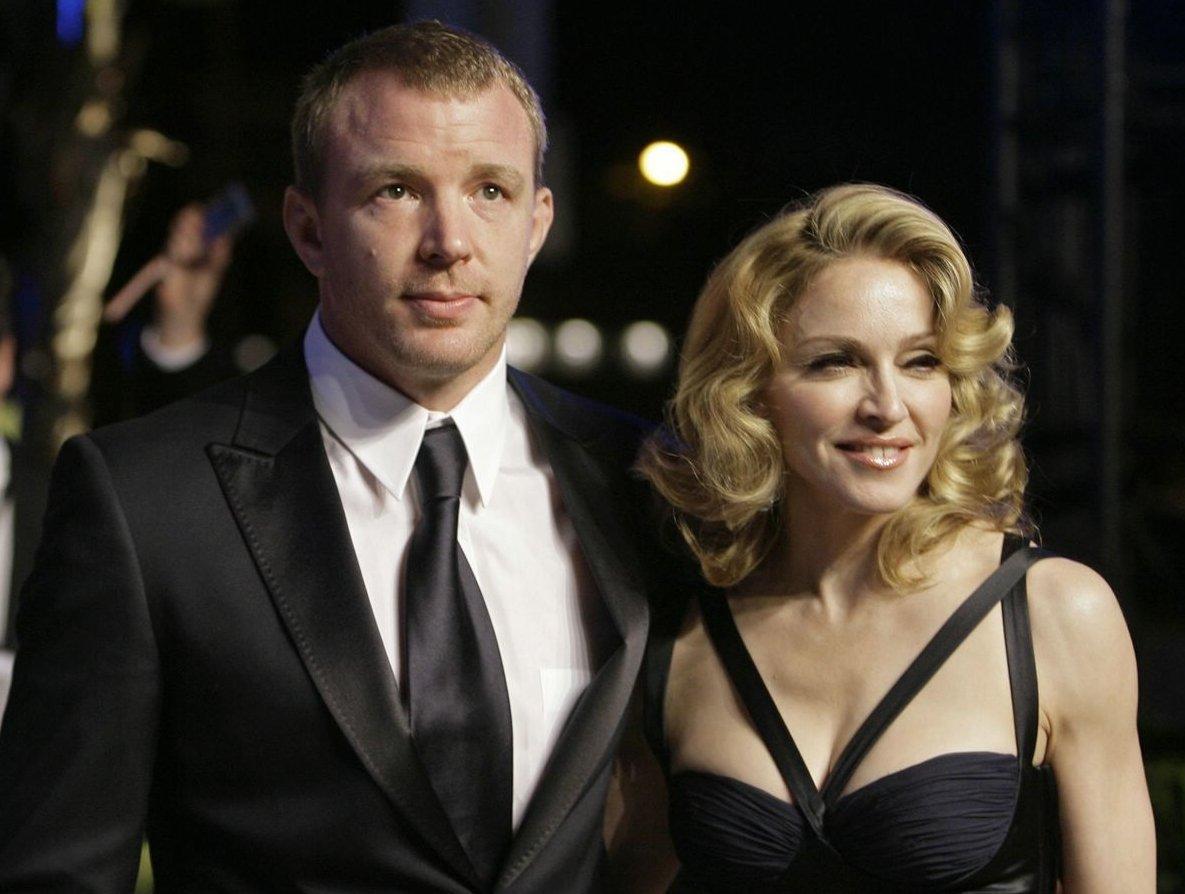 Мадонна и Гай Ричи 2
