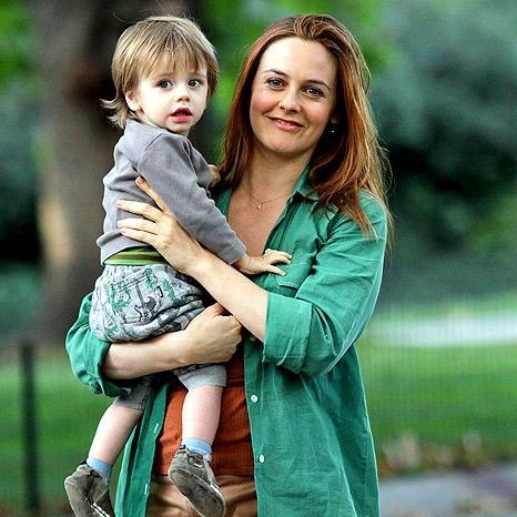 Алисия с сыном