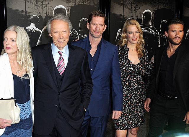 Клинт Иствуд с семьей