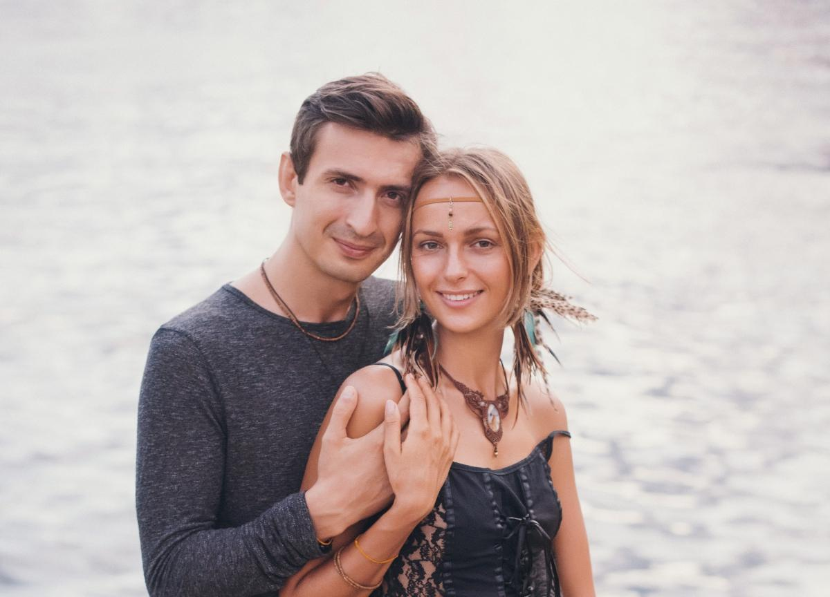 Лемар с женой