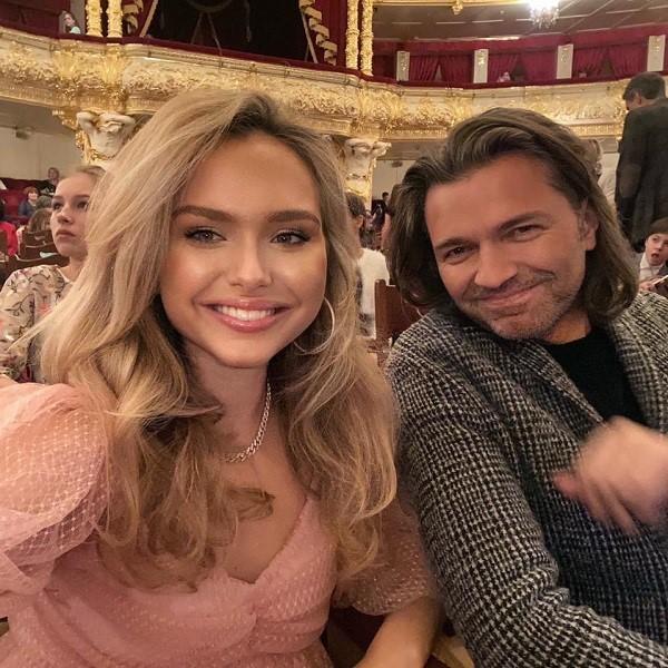 Дмитрий Маликов и дочь