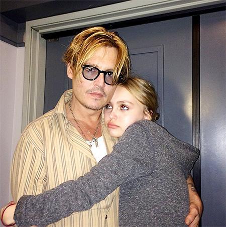 Джонни Депп с дочкой 2