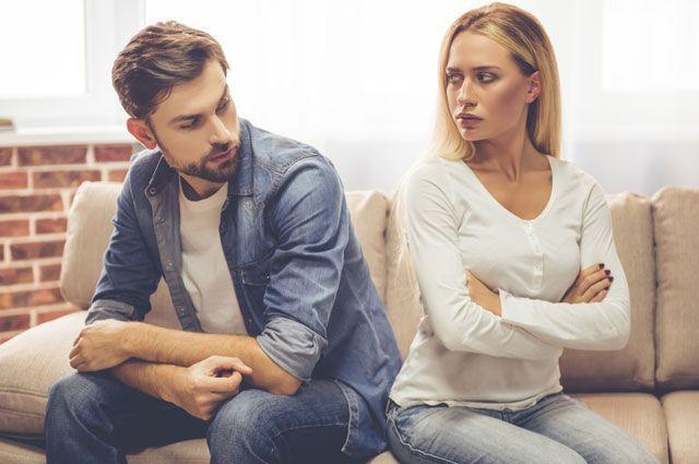 рак в разводе