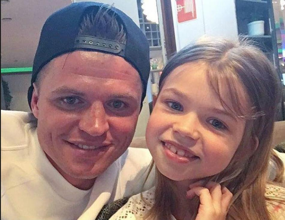 Тарасов с дочкой