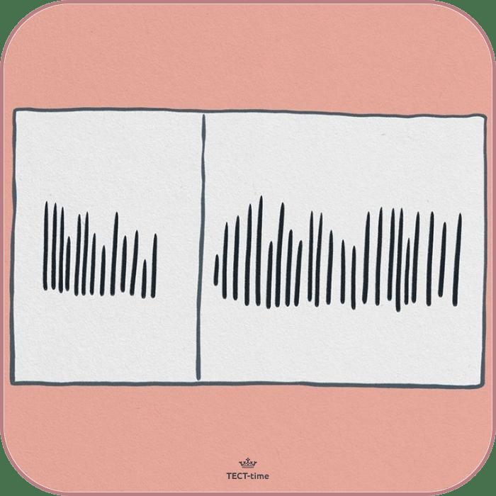 Нарисуйте штрихи
