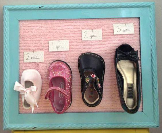 Памятка о том, как росла детская ножка