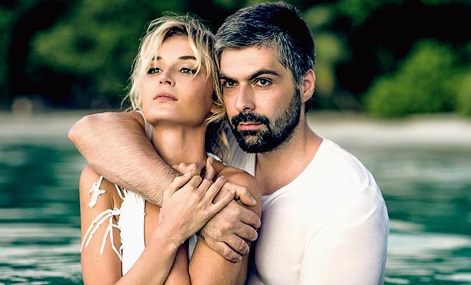 Полина Гагарина и Дмитрий Исхаков 2