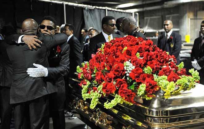 майкл джексон похорон