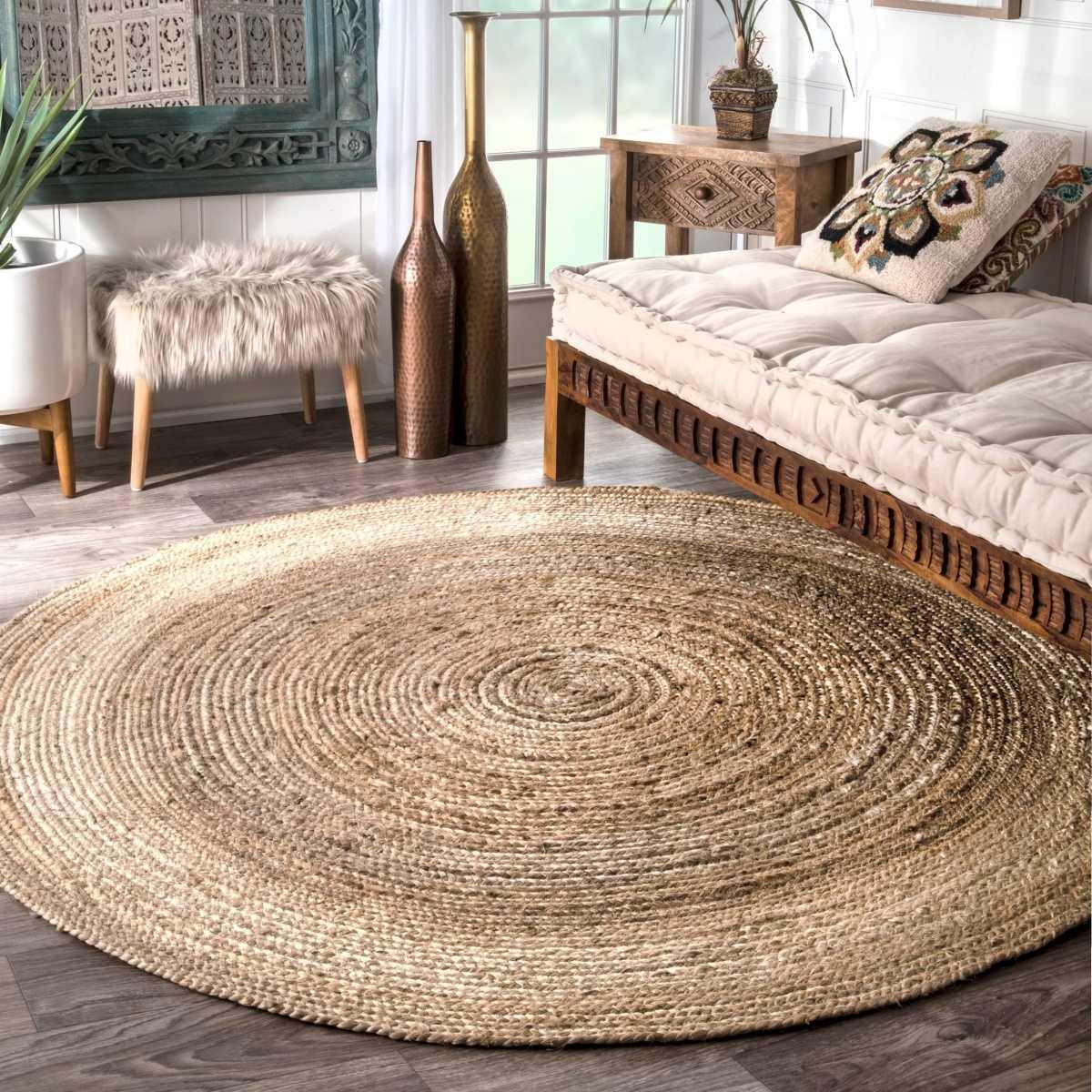 Верёвочный коврик