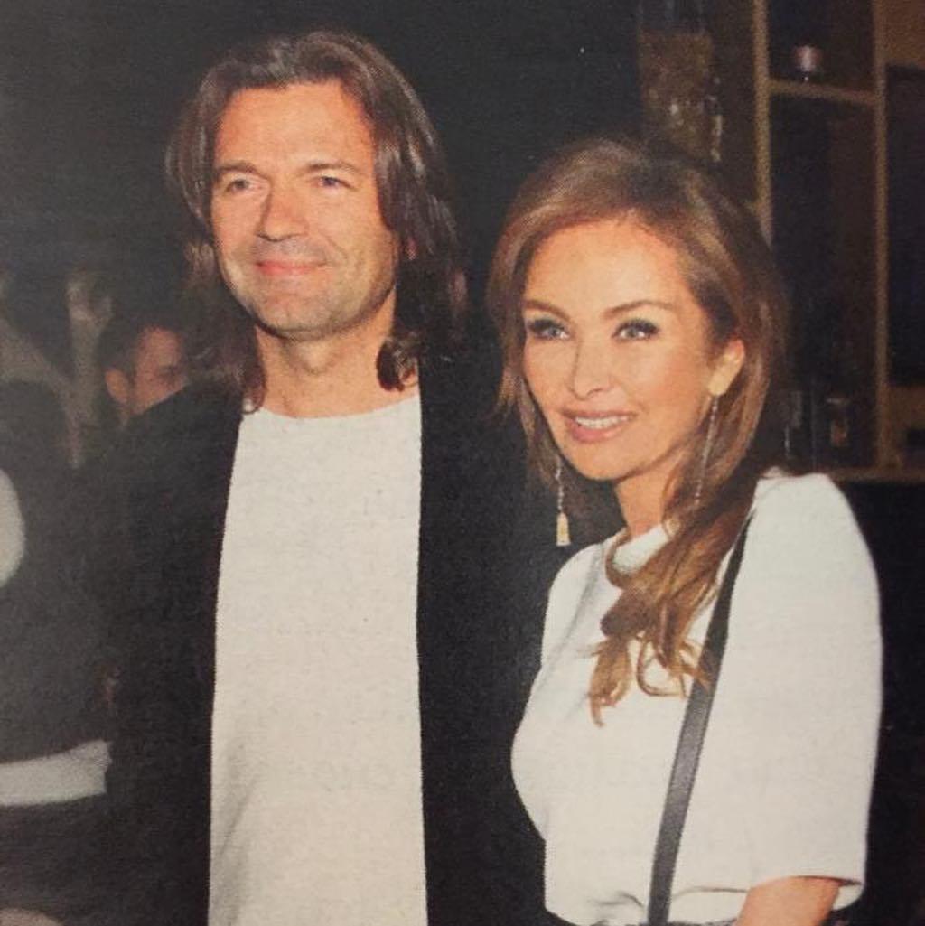 маликов с женой