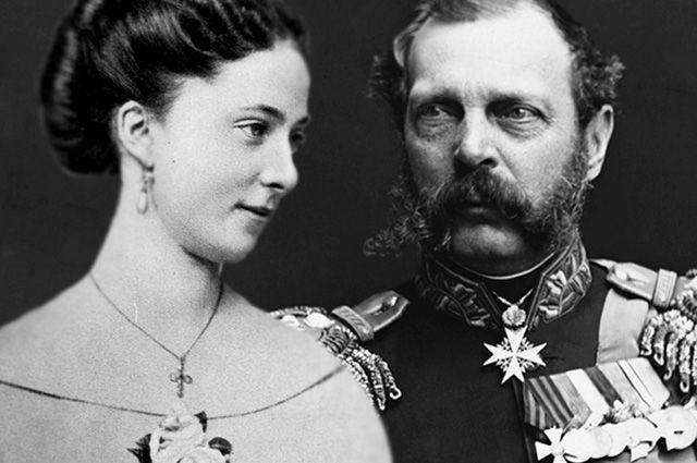 Александр II и Екатерина Долгорукова