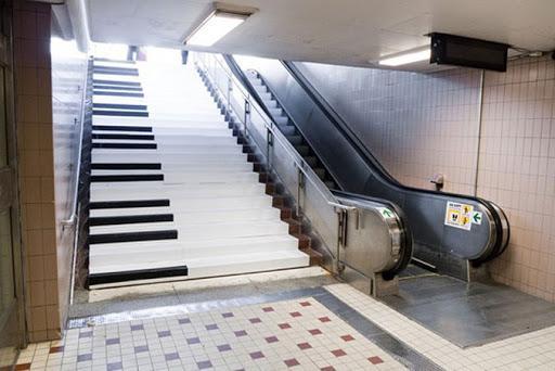 Лестница-пианино