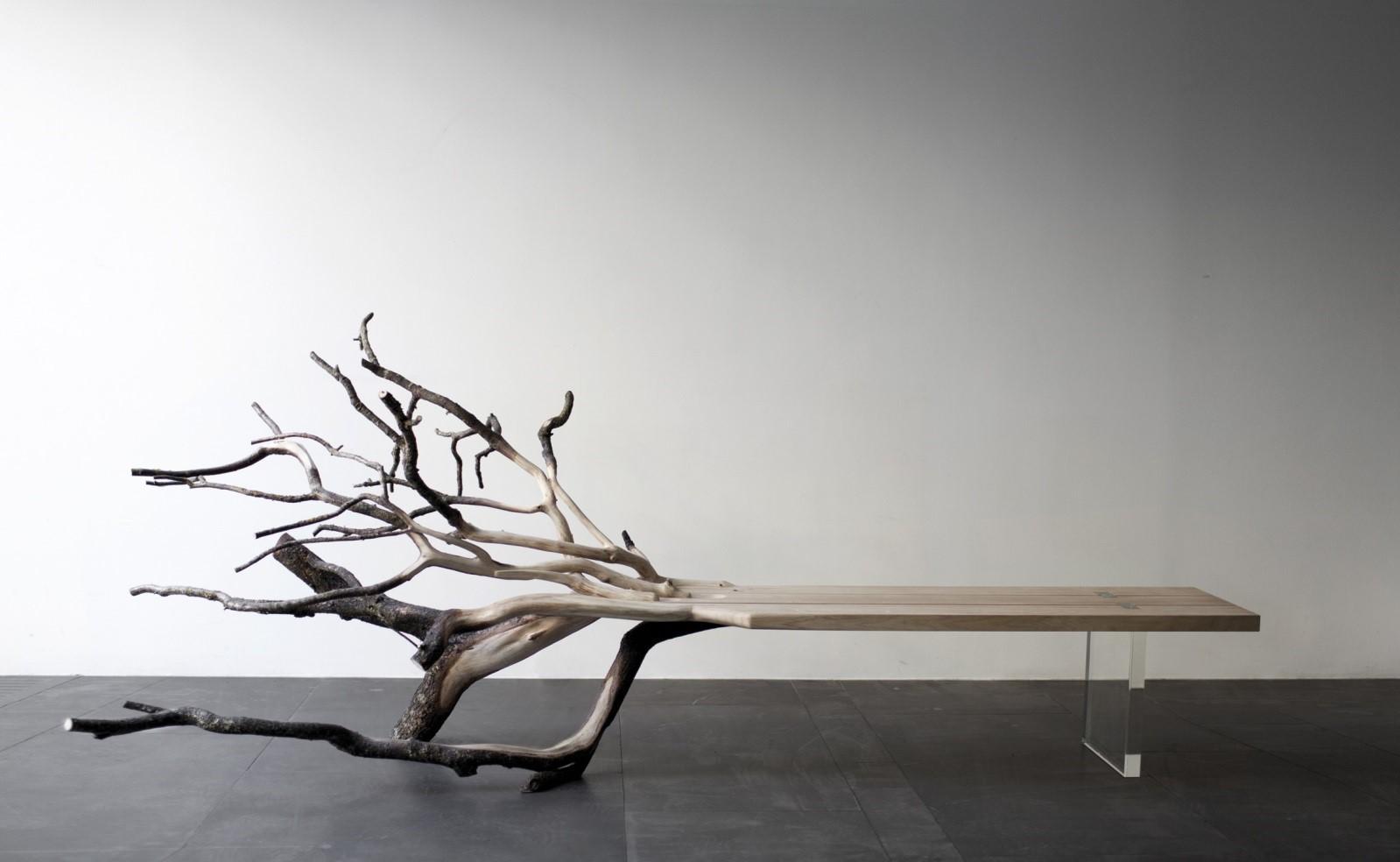 Скамейка-дерево