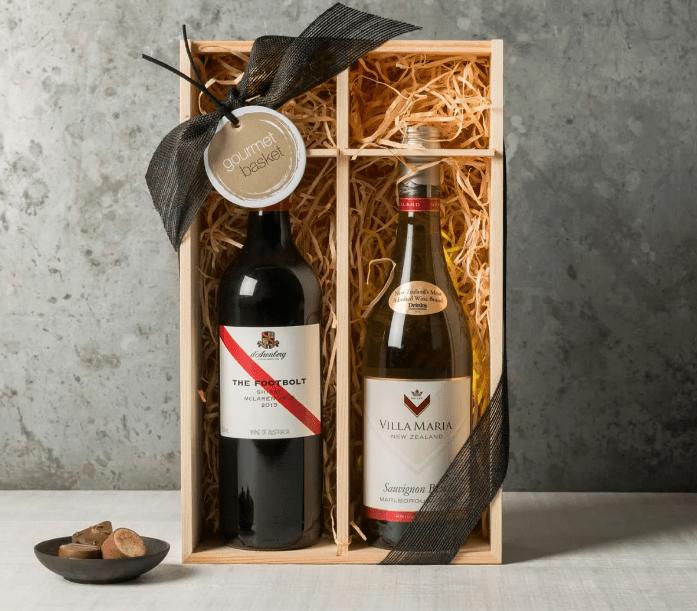 Персонализированная бутылка вина