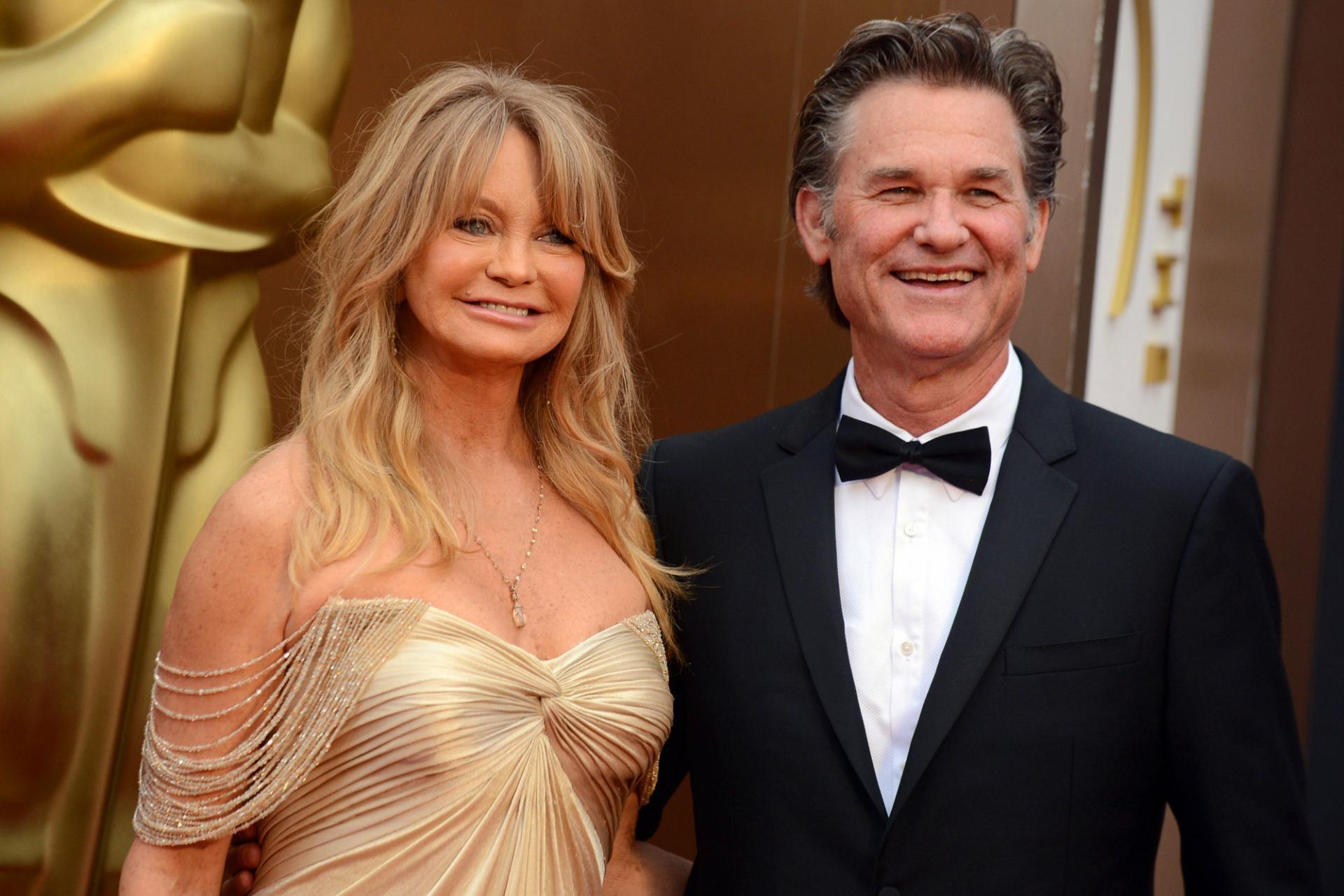 Невероятная love story Курта Рассела и Голди Хоун: «На наше первое свидание ворвалась полиция»