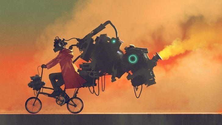 Невероятный мир фэнтези: иллюстратор из Таиланда размышляет о том, что ждёт человечество в ближайшем будущем