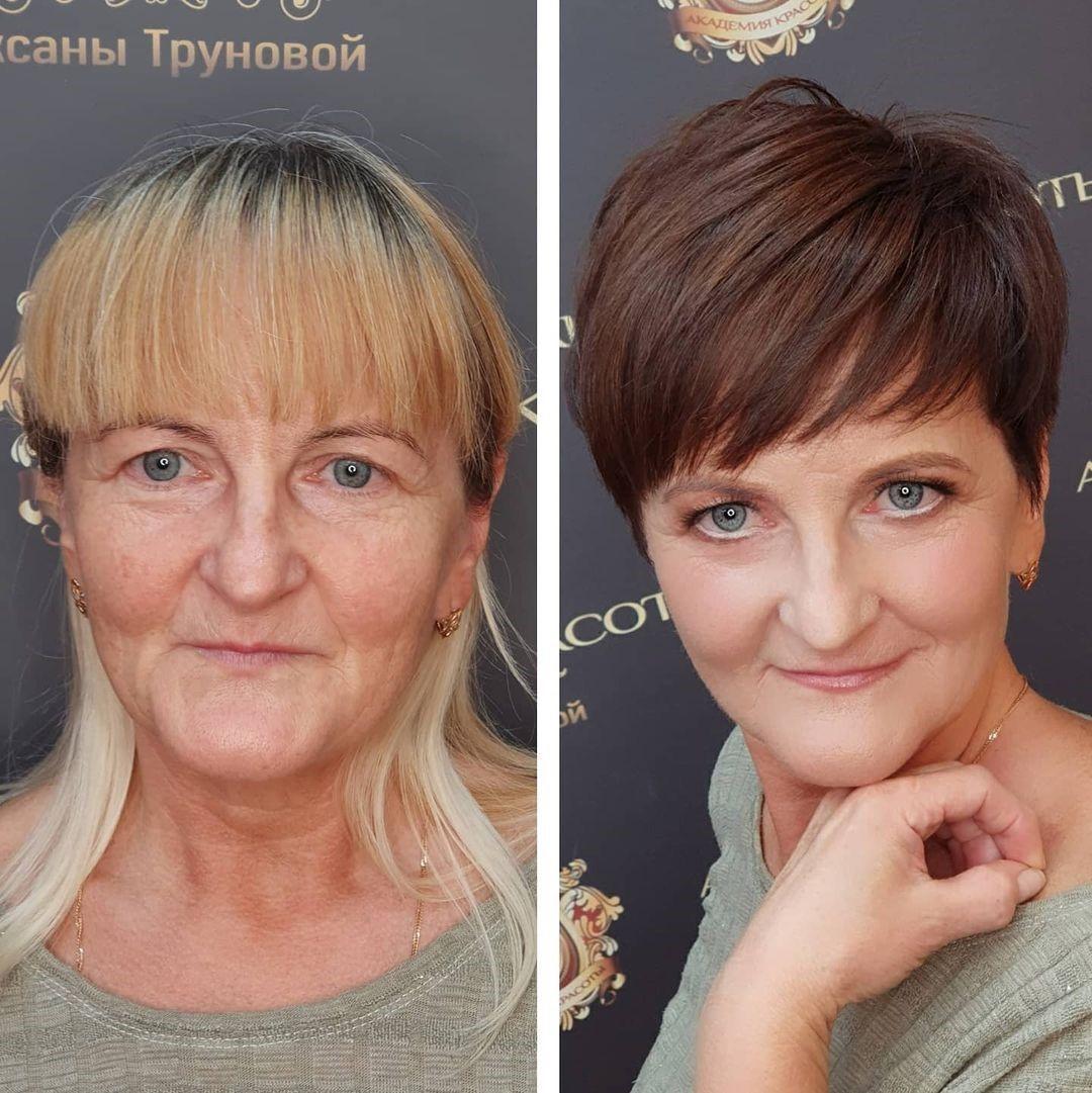 Эти 20 женщин позволили стилистам сделать с их волосами всё, что они захотят – и не пожалели об этом!