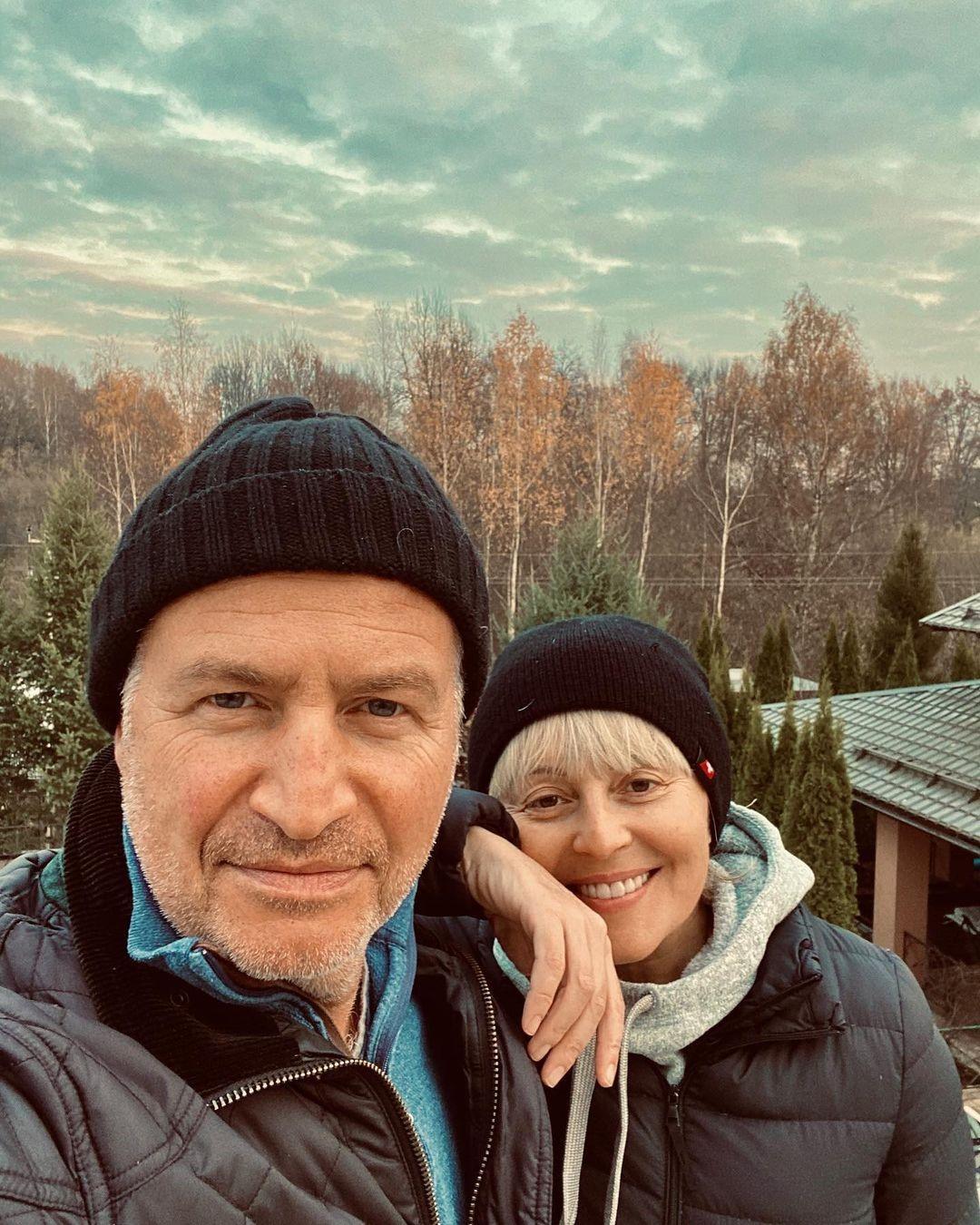 агутин с женой