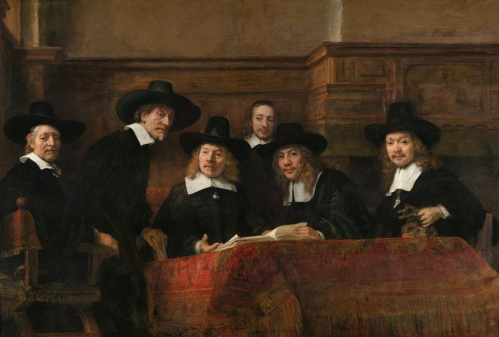 Синдики Амстердамской гильдии суконщиков