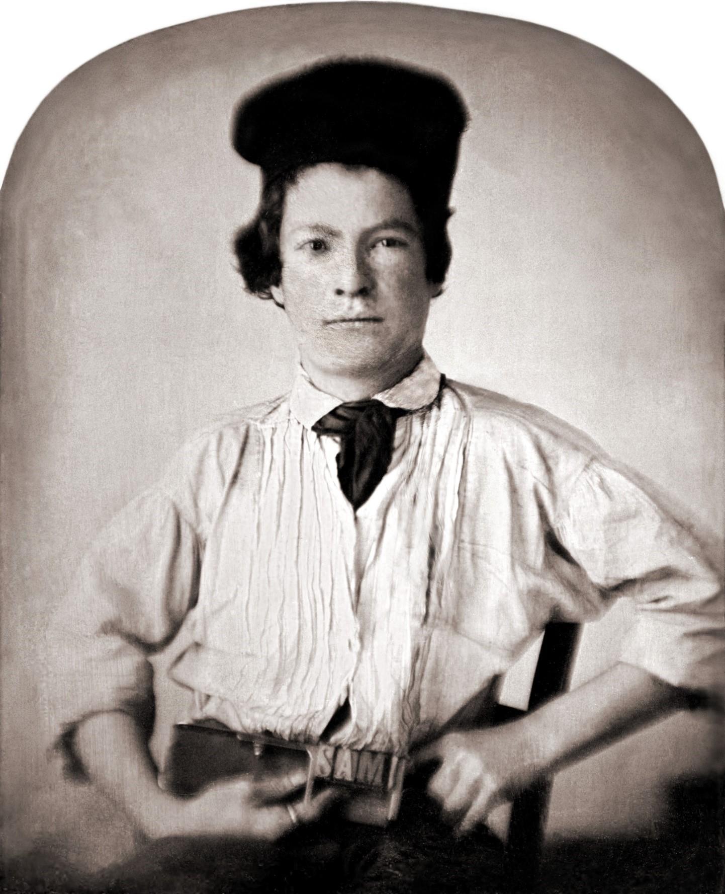 Марк Твен в 15 лет