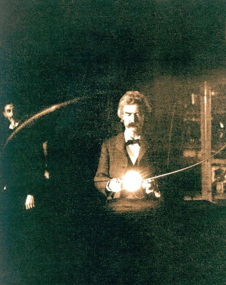 Твен в лаборатории Тесла