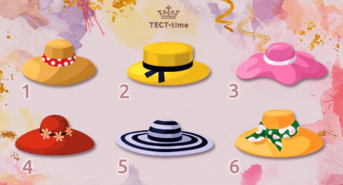 тест шляпа