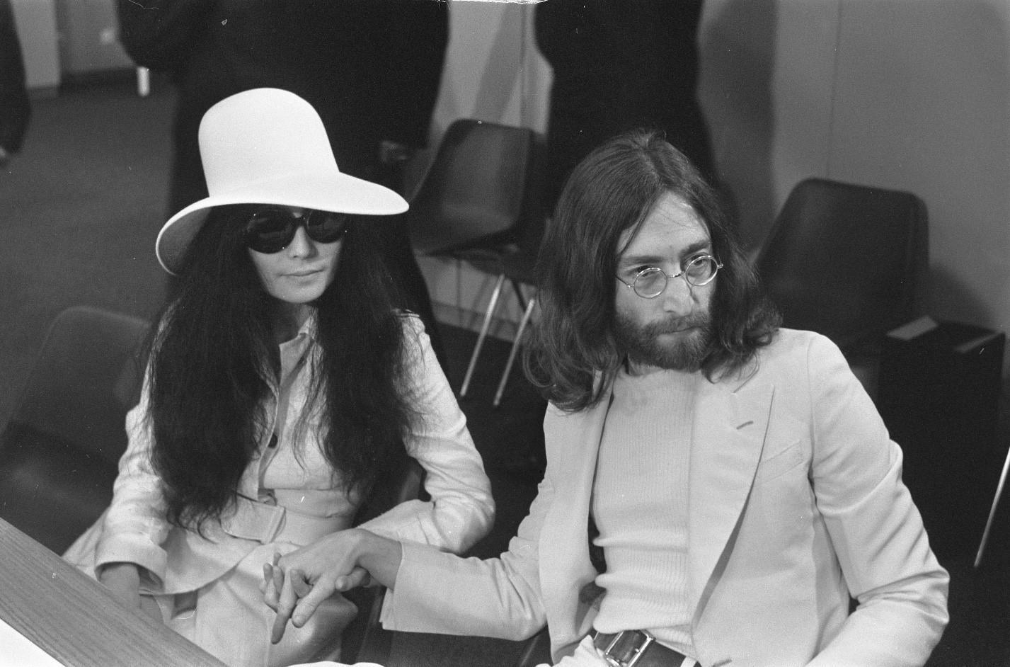 Леннон и Йоко Оно