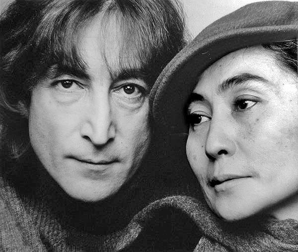 Леннон и Йоко Оно, 1980. Фото Википедия