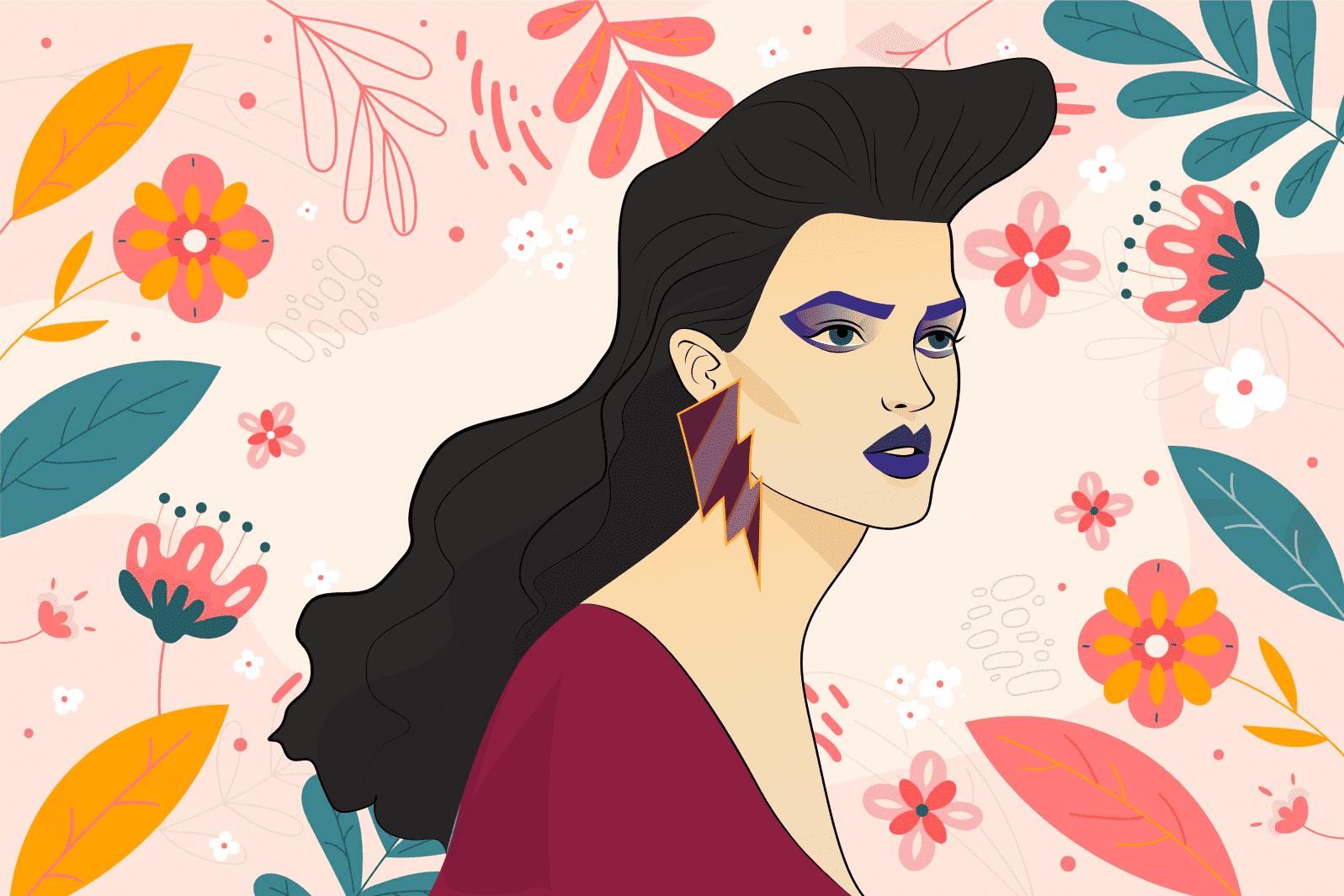 Бьюти-прогноз от Cоlady: визажист и дизайнер представили макияж будущего