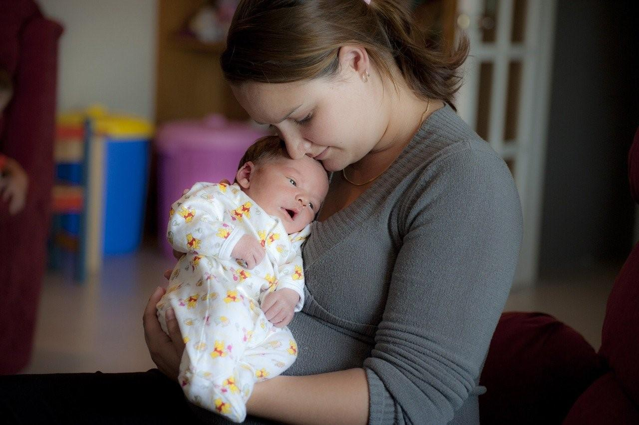 мама с ребёнком 2