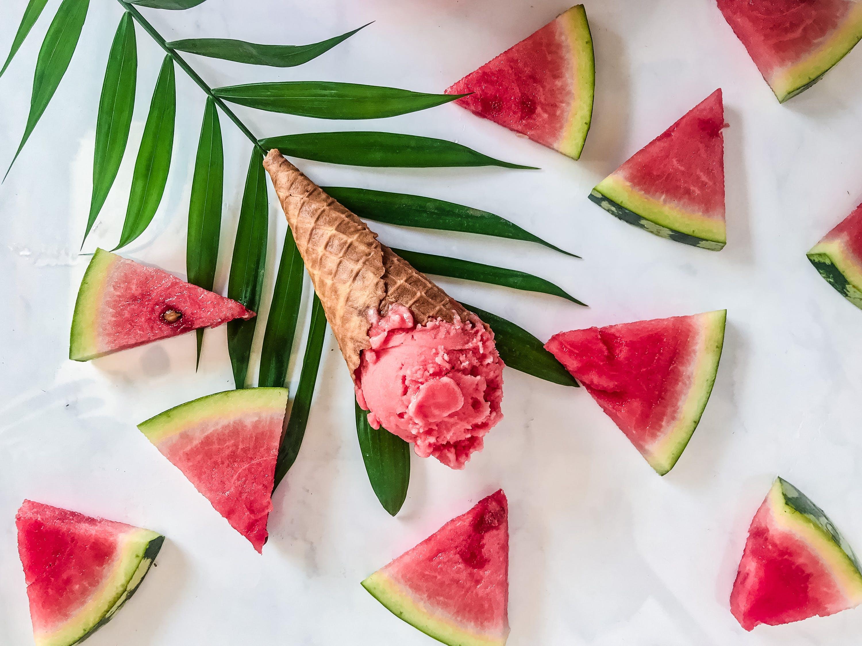 мороженое с арбузом